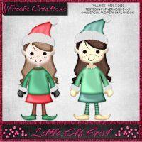 Little Elf Girl Script [Freeks Creations] - $1.50 : LowBudgetScrapping
