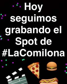 Estamos grabando el Spot de  #LaComilona . Buscanos en Snapchat como @teletonparaguay y mirá el detrás de cámaras.