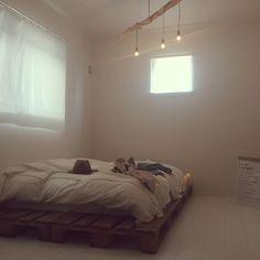 rieさんの、IKEA,ファッション,海外インテリアに憧れる,古材,ペーパーバッグ,ベッド,ベッド周り,のお部屋写真