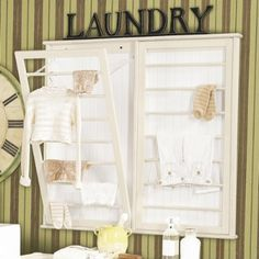 for the laundry room...