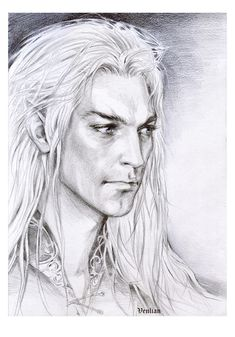 Fingolfin, Noldorin prince, 2nd son of Finwe. He was the strongest and most valiant of the mighty sons of Finwe. The Moon rose, flowers sprang up at  his feet, and the forces of Morgoth retreated.