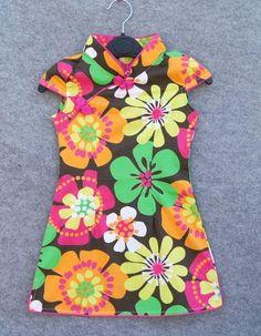 Sweet Floral Kids Cheongsam / Qipao / Chinese Dress