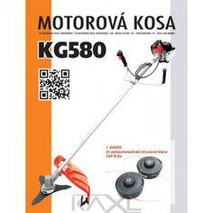 Motorová kosa/Křovinořez KAXL KG580 3,8kW + výbava, model 2014