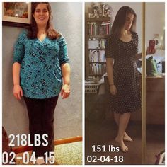 """A 3-year journey with food freedom!  """"I started Trim Healthy Mama on 02-04-2015 (my 29th birthday). Today is my 3rd Trimmaversary! I'm still loving this lifestyle."""" Faith www.TrimHealthyMama.com"""