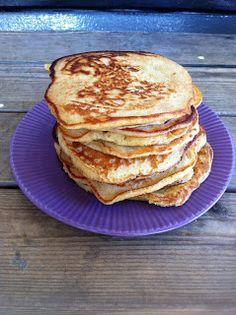 Baker for moro: Litt grove amerikanske pannekaker Pancakes, Breakfast, Food, Morning Coffee, Meal, Crepes, Essen, Pancake, Hoods