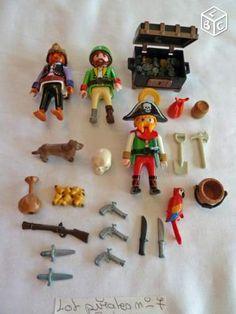 Playmobil pirates 7 avec crane