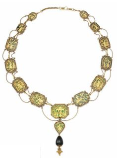 Prudence Research ~ India's Influence on Victorian Clothing in the Custard Protocol series (Special Extras) - Gail Carriger Ancient Jewelry, Antique Jewelry, Gold Jewelry, Jewelery, Nice Jewelry, Vintage Jewellery, Necklace Box, Glass Necklace, Pendant Necklace