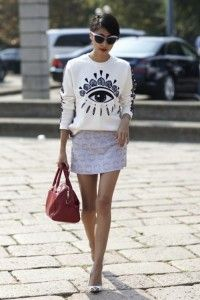 Queen S love Kenzo WARNING: OBSESSION KENZO !!! IN THE STREET Enjoy the pics xxx…