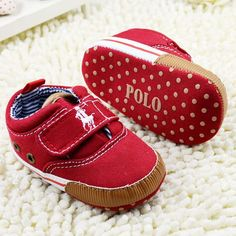 2014 Top Quality Unisex Baby Shoes 0 -12 Month brand footwear Fabric Lace up Non-slip Soft Bottom First Walkers Promotional s324