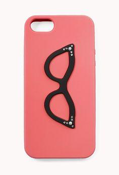 Retro Cat-Eye Glasses Phone Case | FOREVER21 - 1077722016 #ForeverHoiday