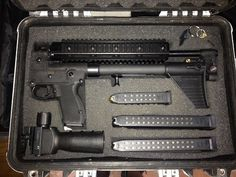 Kel-Tec Sub2000 with Glock accessories