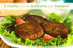 Oggi vi propongo alcune ricette semplici con le lenticchie, ideali per bambini. In casa (quasi) green le lenticchie sono molto apprezzate, sia come minestra (