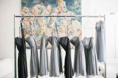 grey ombre bridesmaid dresses 2014