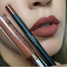Ashton and Vixen lip liner Vintage Makeup Looks, Tom Ford Lipstick, Beauty Makeup, Hair Beauty, Fashion Beauty, Women's Fashion, Korean Makeup, Matte Lips, Vixen