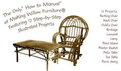 How to make Willow Furniture  Making Bent Willow Furniture E-Book