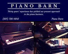 The Piano Barn has a long history of activity in the piano business. The founder and owner is Mike Scainetti, who has been working around pianos full time since the 1970's. The Piano Barn joyfully and professionally serves the piano needs in our Hamptons/New York area. We provide a really good selection of mint used and new pianos. Many celebrities have purchased and rented our pianos and consider us friends in the piano business. Mike is a professional musician, singer, songwriter.