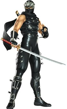 View an image titled 'Ryu Hayabusa Art' in our Ninja Gaiden Sigma 2 art gallery featuring official character designs, concept art, and promo pictures. Gi Joe, Guerrero Ninja, Ninja Armor, Ryu Hayabusa, Arte Ninja, Ninja Gaiden, Shuriken, Shadow Warrior, Fantasy Warrior