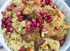 ras-el-hanout chicken with spicy couscous   lost in food