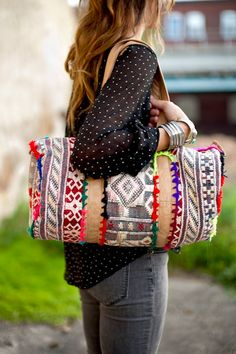 via Free People..perfect diaper bag?