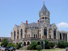 old Victoria County Courthouse in Victoria, TX by courthouselover on Flickr