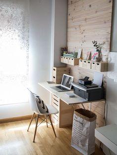 7 ideas para diseñar tu oficina en casa - Púrpura                                                                                                                                                                                 Más