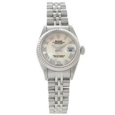 Rolex Steel 18k White Gold Watch 79174 $4825