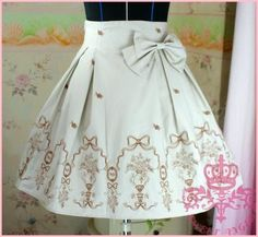 4e71967a465c Cheap Khaki Princess Rose Embroidery Pattern Ribbon Corset Lolita Skirt Sale  At Lolita Dresses Online Shop. We provide Lolita products with quality and  best ...