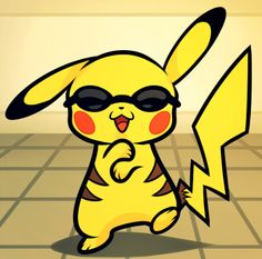How to Draw Pikachu Gangnam Style, Step by Step, Pokemon Characters, Anime, Draw Japanese Anime, Draw Manga, FREE Online Drawing Tutorial, Added by Dawn, October 31, 2012, 12:05:38 am