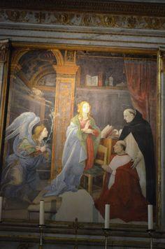 I Viaggi di Raffaella: La Basilica di S.Maria sopra Minerva, raro esempio di stile gotico a Roma