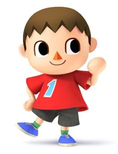New Character In Super Smash Bros. Brawl 3DS and Wii U Representing Animal Crossing: Villager