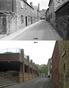 West Hendford Then & Now.