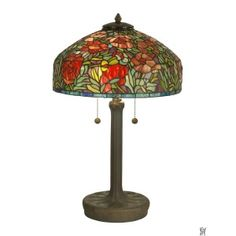 TULIP TIFFANY REPLICA TABLE LAMP