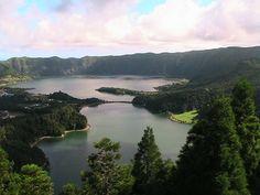 Açores, S. Miguel, Lagoa das 7 Cidades, Agosto 2008