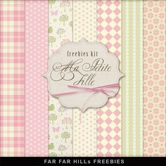 Far Far Hill: New Freebies Kit of Backgrounds - Ma Petite Fille