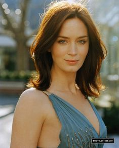 Emily Blunt with great-and-achievable hair