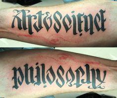 philosophy tattoos - Google Search