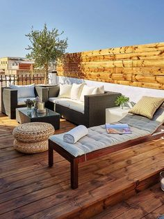 If You Like A View From A Deck Or Roofdeck, Hereu0027s A Beautiful,  Well Designed Space To Read, Talk, Use A Tablet Or Laptop