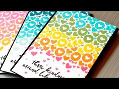 Quick Tip Video: Small Stamp Backgrounds + Giveaway - Jennifer McGuire Ink