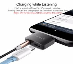 2 in 1 For Lightning to 3.5mm