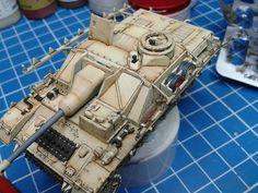 Stug IV  work in progress 1/72