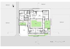 Trough House,Floor Plan