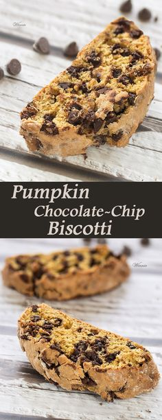 Pumpkin Chocolate Chip Biscotti (English version included).    http://www.winnish.net/2014/10/5259/