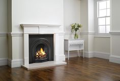 The Stovax Decorative Arched Insert fireplace pre-dates the Classical model by some 30 years, having been designed around the time of the Great Exhibition