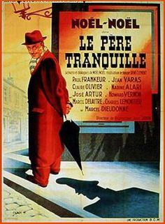 """Mr. Orchid (1946) """"Le père tranquille"""" (original title) Stars: Noël-Noël, Maurice Chevit, Alice Leitner ~ Directors: René Clément, Noël-Noël"""