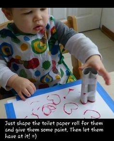 Valentinstag Toilettenpapier Herz