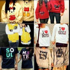 Matching Couples Sweaters ༝༚❤༝༚ ・⚤・ℍ!Ž.&.HëR'ź・⚤・