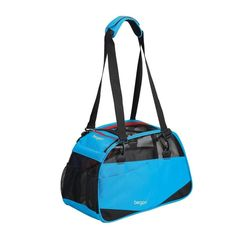 Airline Compatible Pet Travel Bag - Bergan Voyager Dog and Cat Carrier - Size Medium/Large - Blue * Check this awesome product by going to the link at the image. (This is an affiliate link and I receive a commission for the sales)