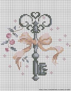 Key cross stitch