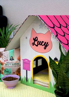 DIY CARDBOARD CAT HOUSE Make Your Own DIY Cardboard Cat House And Create A  Cozy Hangout