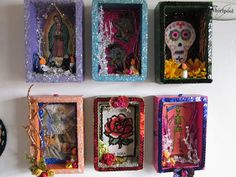 Mariachi Nicho  Retablo  Dia De Los Muertos  Day Of by CherryPicks,